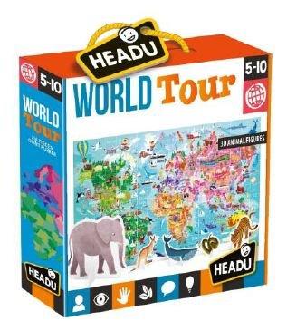 Puzle gigante world tour