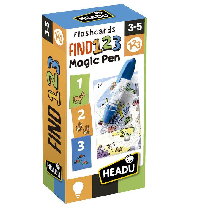 Juego headu flashcards find 123 magic pen