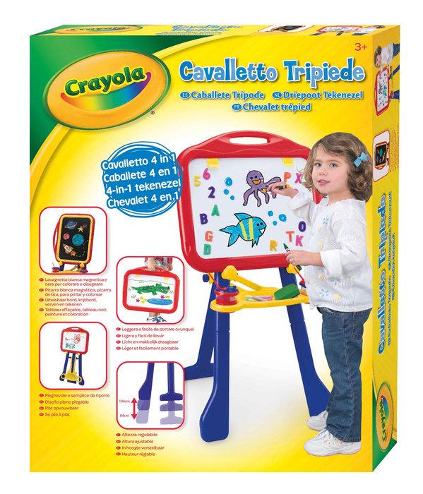 Caballete crayola tripode 4 en 1