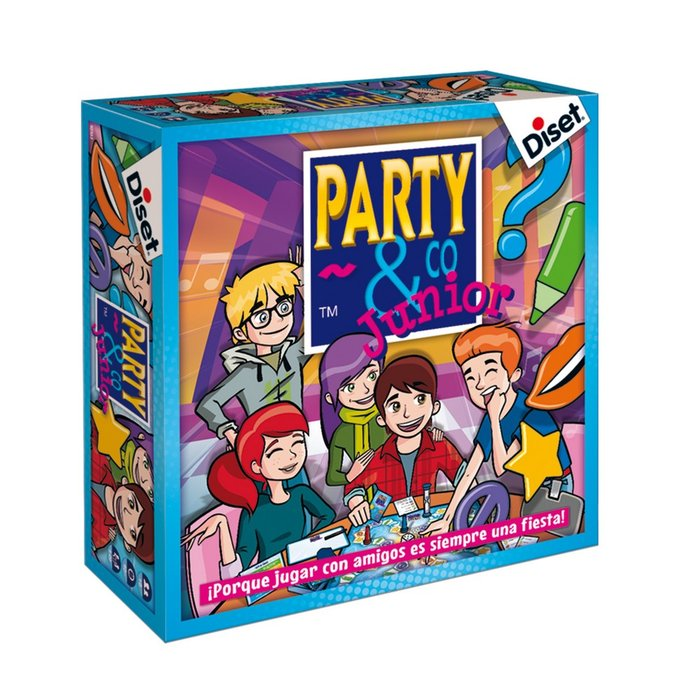 Juego de mesa party & co junior