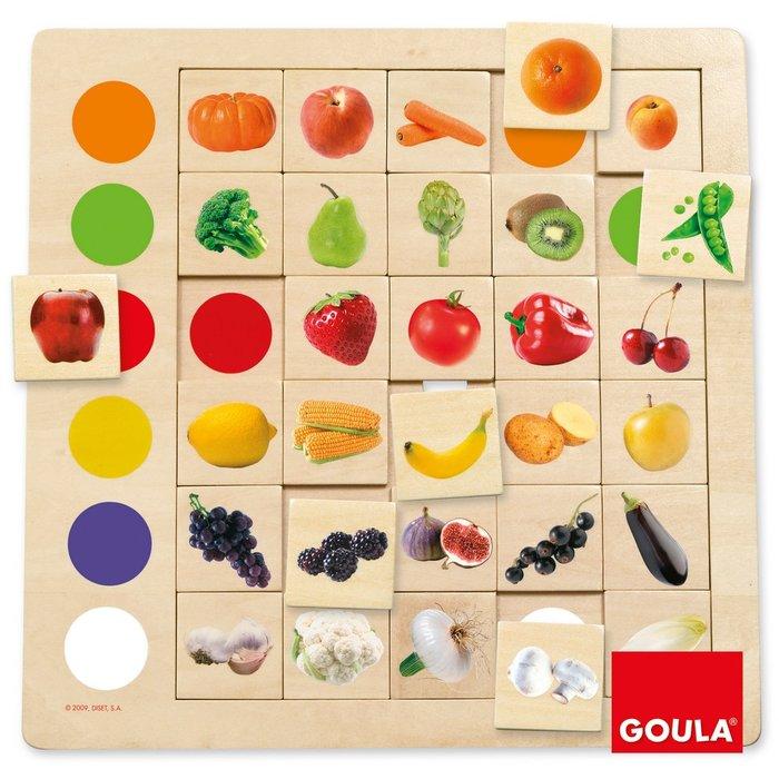 Juego asociacion de colores