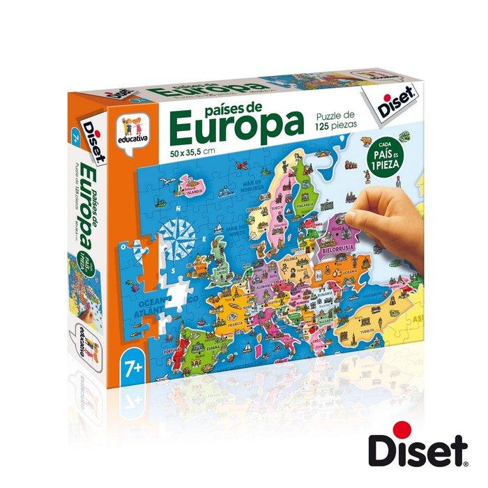 Juego educativo paises de europa