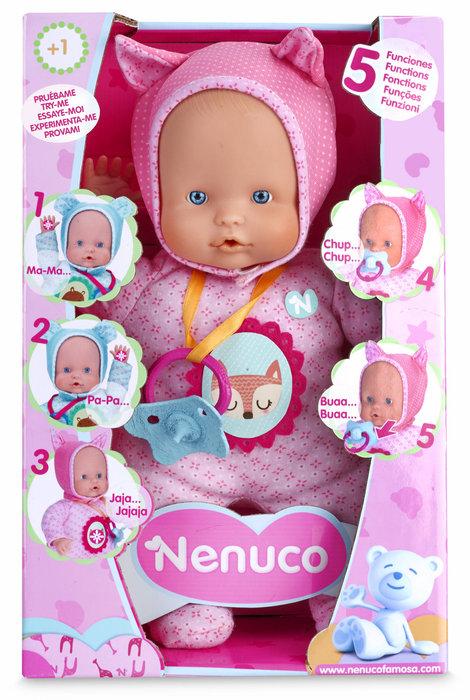 Nenuco soft baby 5 funciones pink