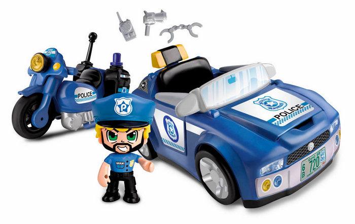 Pinypon action policia vehiculos de accion