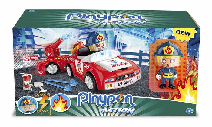 Pinypon action super fireman action vehi