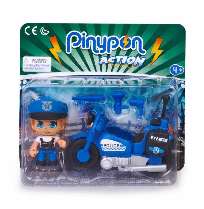 Pinypon action moto de policia