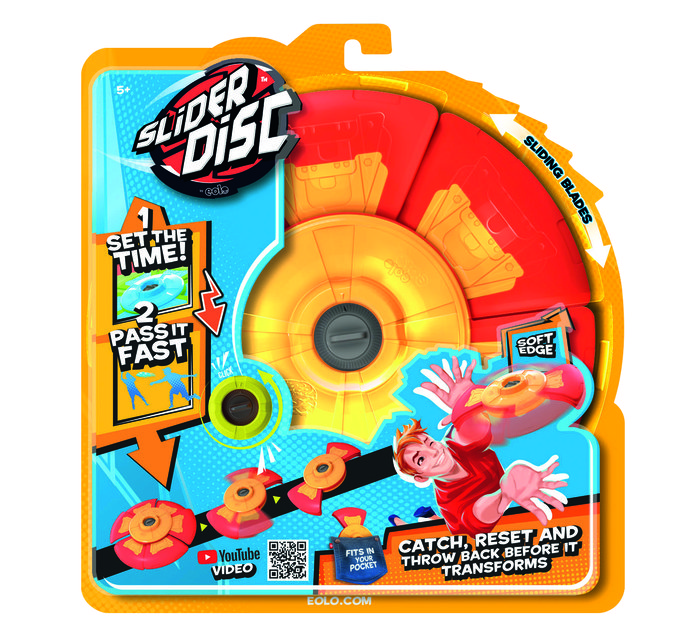 Slider disc