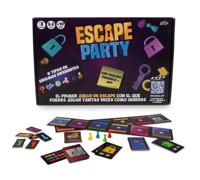Juego de mesa escape party
