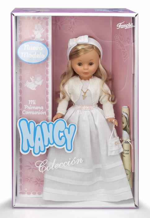 Muñeca comunion nancy rubia