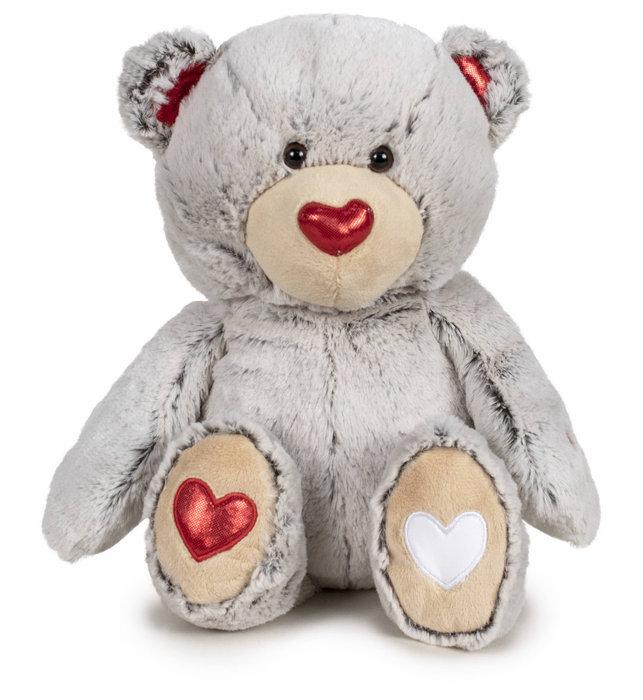 Peluche i love you  oso con sonido 37 cm graba tu mensaje su