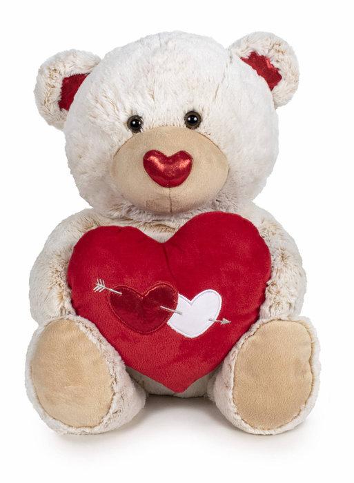 Peluche i love you - oso 54 cm surtidos