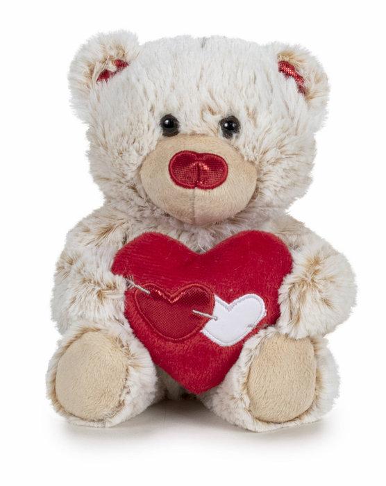 Peluche i love you - oso 22 cm surtidos