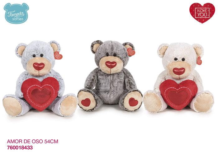 Peluche i love you oso 54 cm