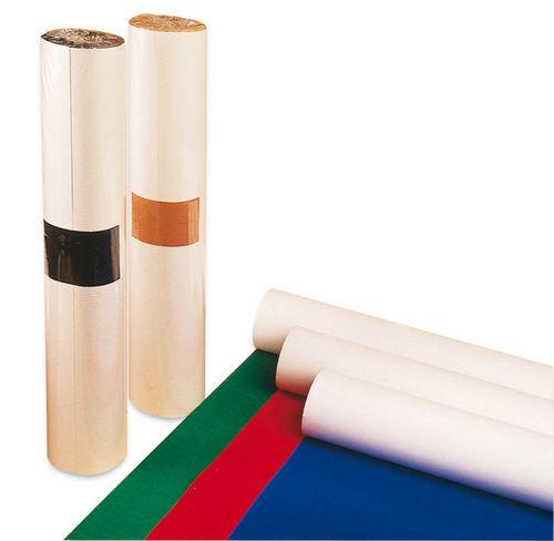 Rollo papel adhesivo apli 050x5m ante rojo