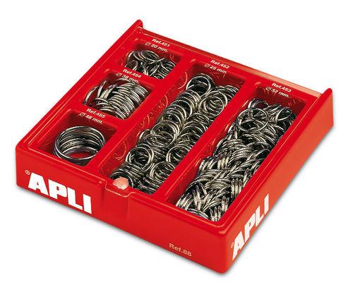 Expositor 330 anillas metalicas suritdas