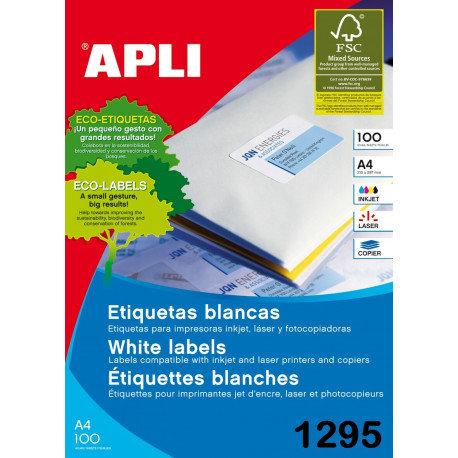 Etiqueta adhesiva impresora 01295