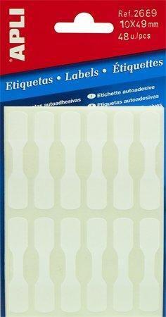 Etiqueta joyeria adhesiva 10x49
