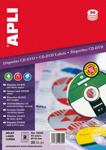 Etiqueta cd-dvd dorso opaco 02899