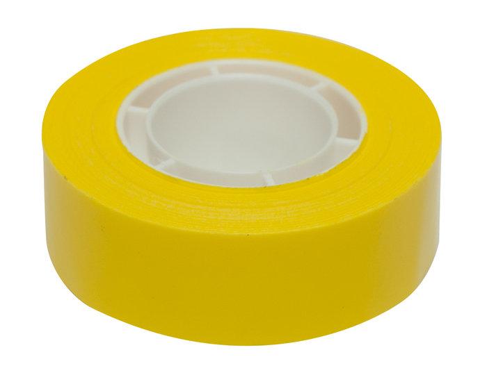 Cintas adhesivas amarillas 19mmx33m