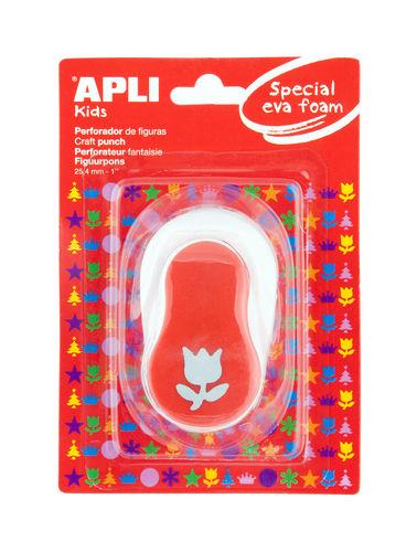 Taladro manualidades tulipan rojo