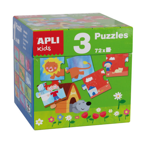 Set apli cubo 3 puzzles