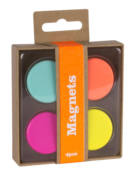 Imanes fluor collection 4 unidades