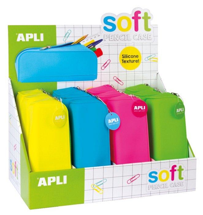 Estuche silicona soft fluor 12 unidades
