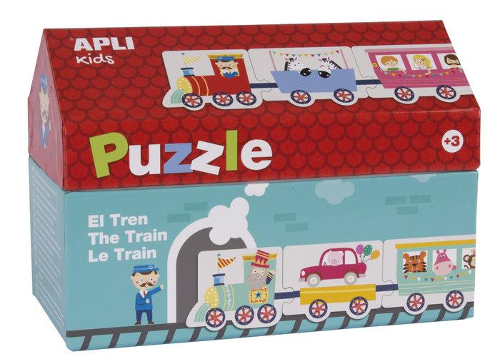 Puzzle casita tren 20 unds