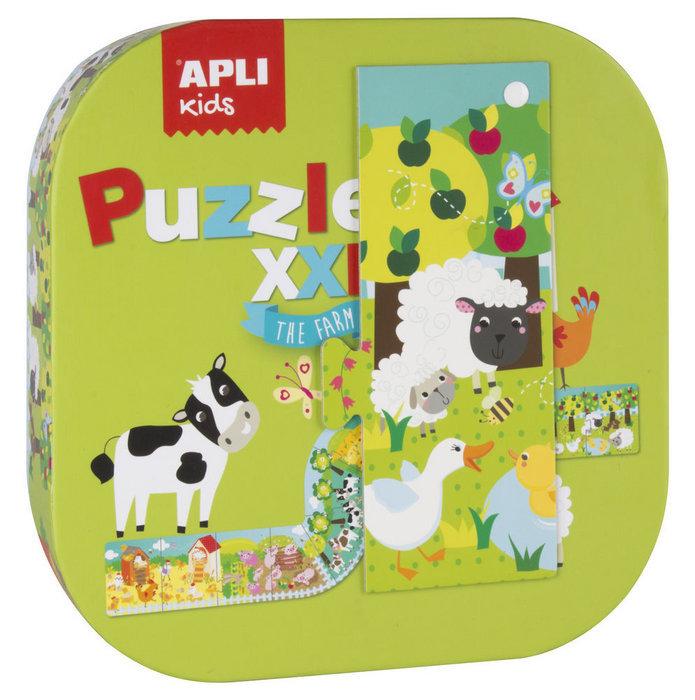 Puzzle xxl granja 12 piezas en caja