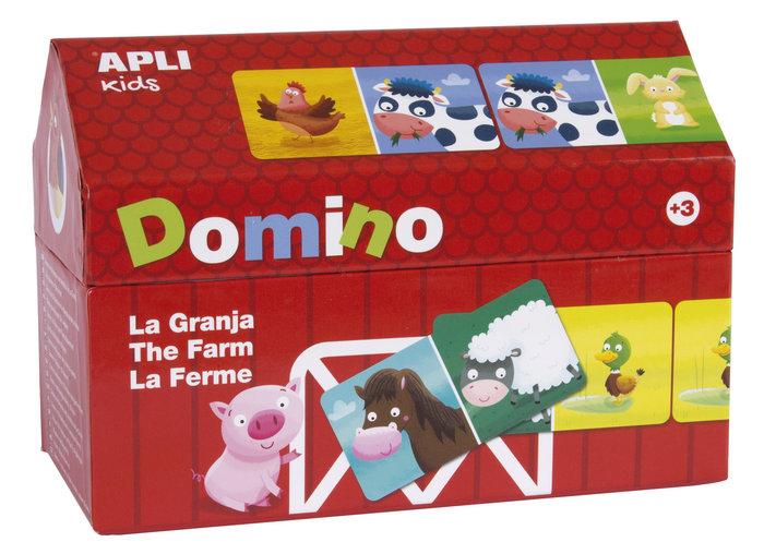 Domino casita granja 28 unds