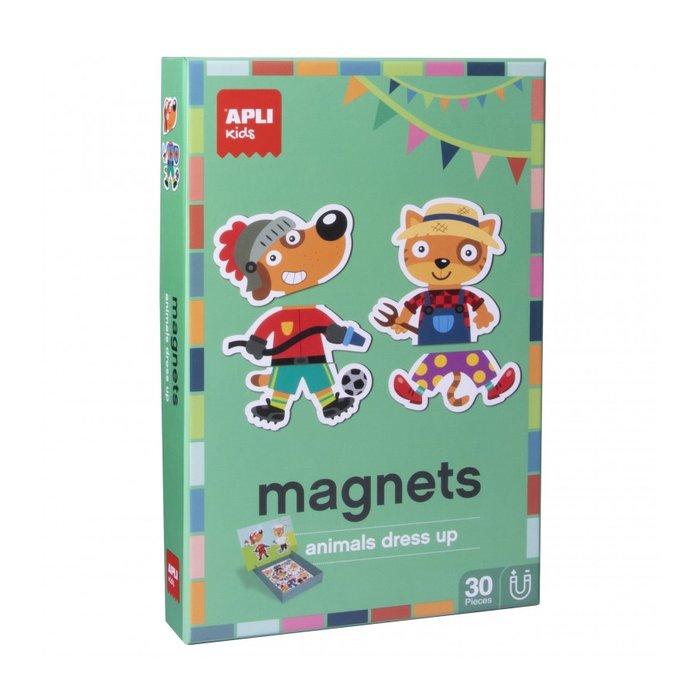 Juego magnetico vestirse 30 piezas