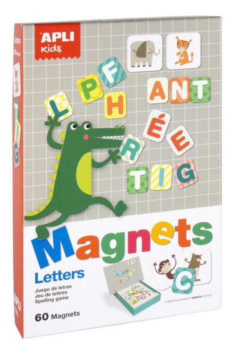 Juego magnetico letras apli kids