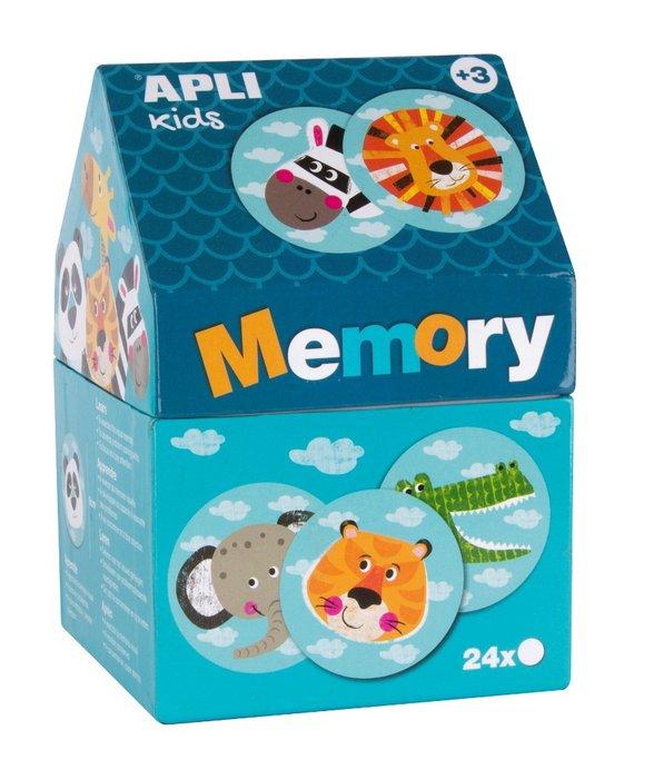 Juego memory casita safari caja 24 piezas