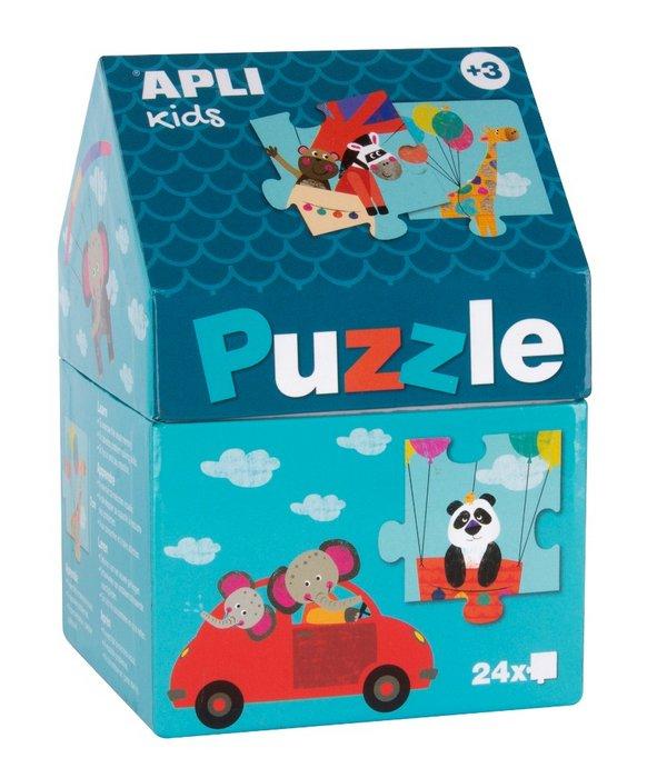 Puzle casita safari caja 24 piezas
