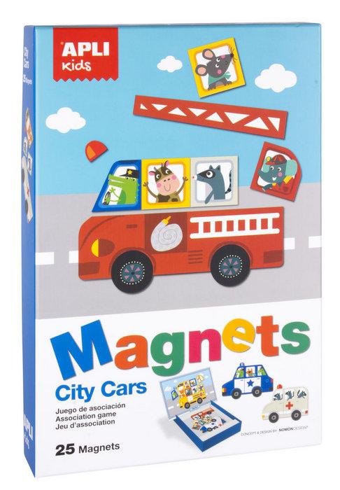 Juego magnetico coches apli kids