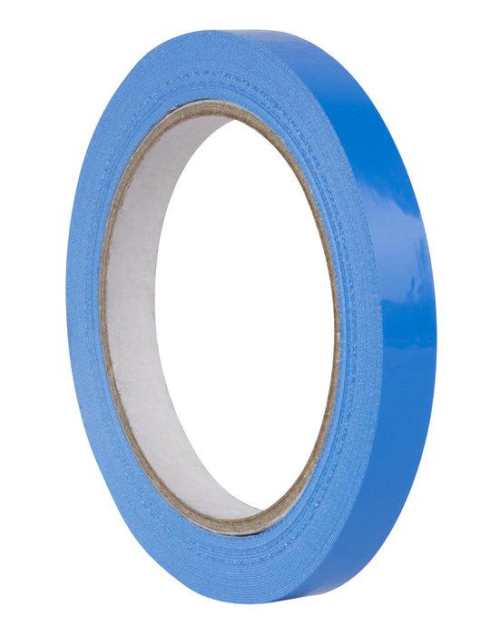 Rollo cinta adhesiva pvc azul 12 mm x 66 m