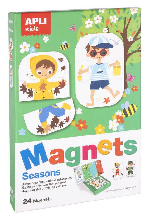 Juego magnetico estaciones apli kids