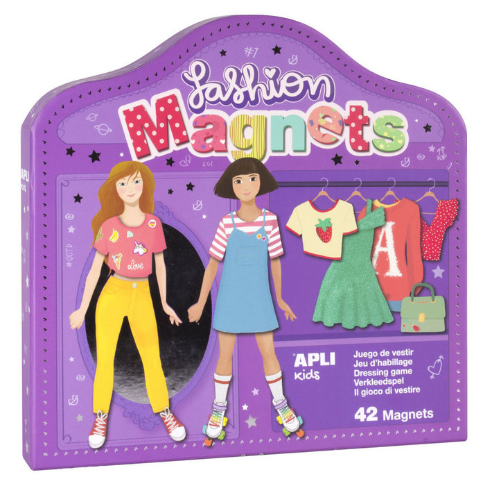 Juego magnetico fashion apli kids