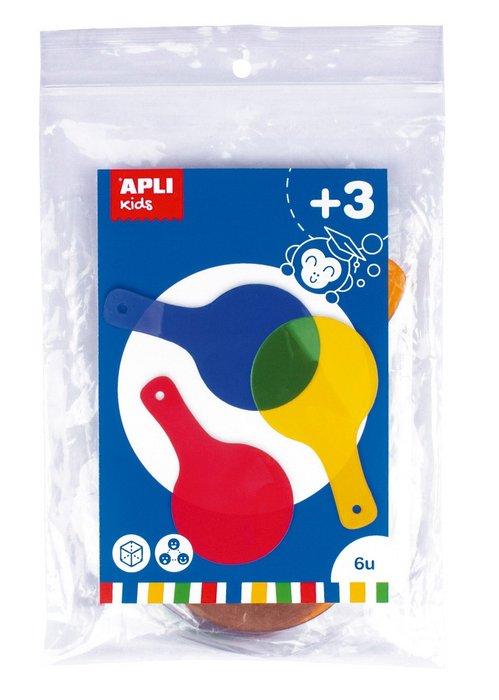 Paletas de colores colores surtidos bolsa 6 uds