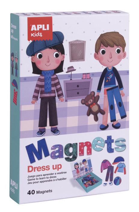 Juego magnetico dress up educativo 40 piezas