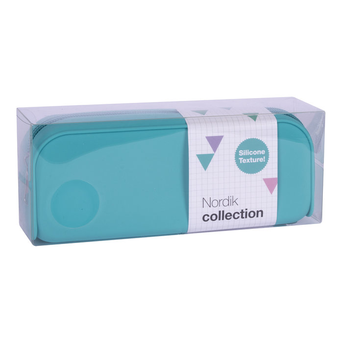 Portatodo silicona nordik collection azul
