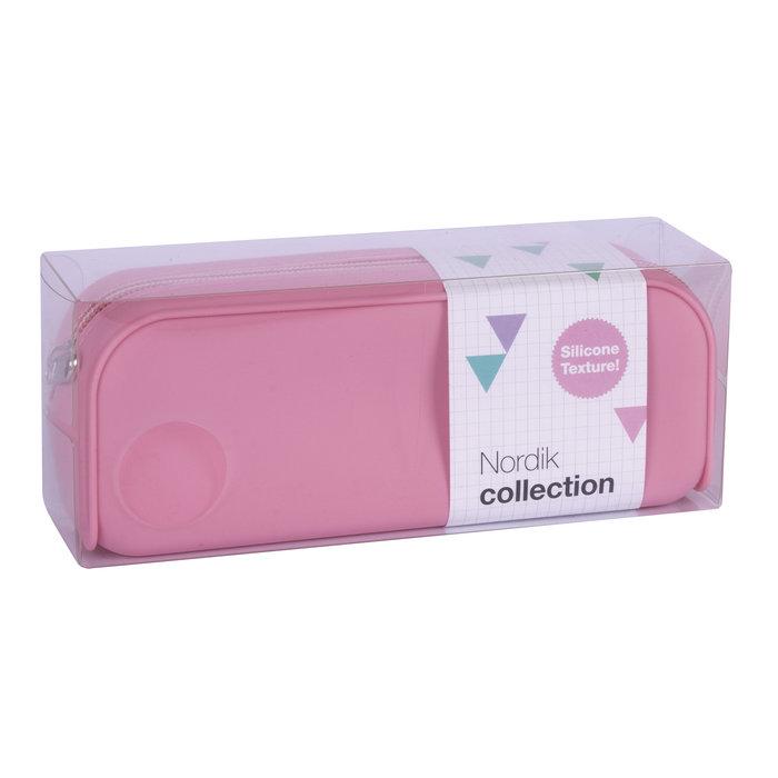 Portatodo silicona nordik collection rosa