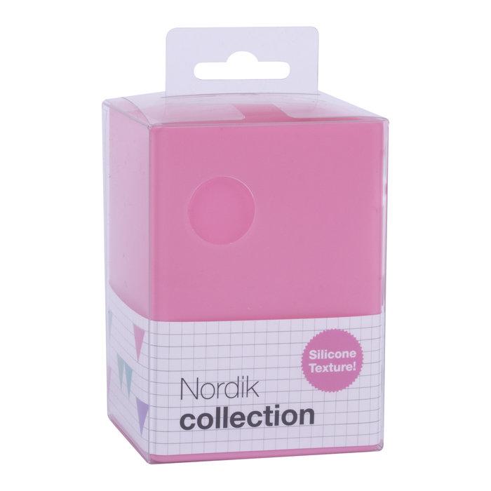 Cubilete silicona nordik collection rosa