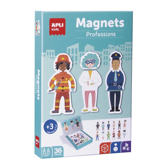 Juego magnetico profesiones 36 piezas