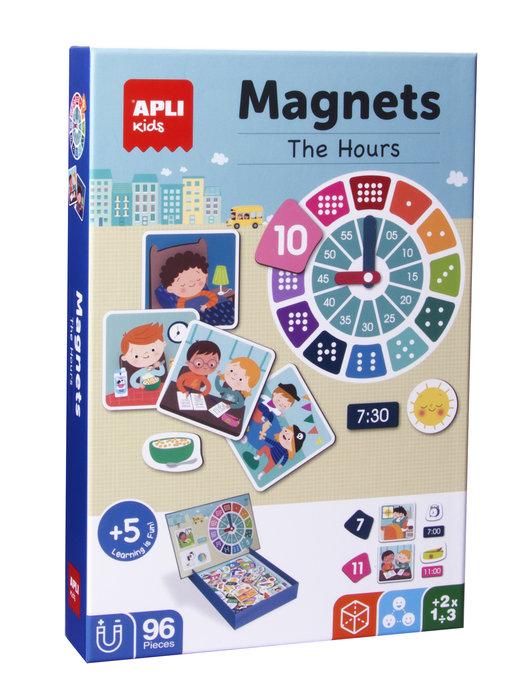 Magnets aprendo las horas