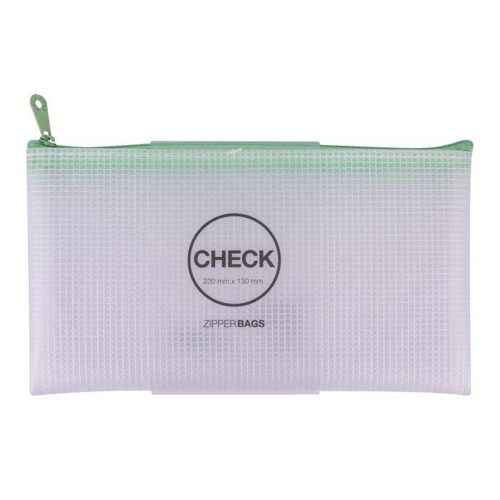 Bolsa zipper bag check nordik collection