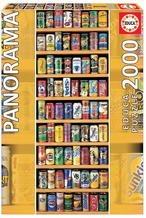 Puzzle educa 2000 piezas sobre lata panorama