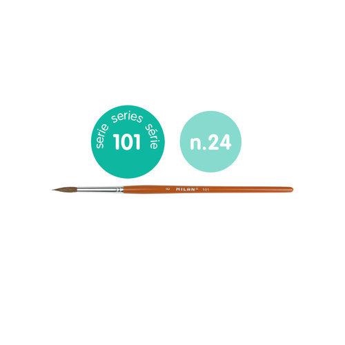 Pincel escolar redondo serie 101 nº 24