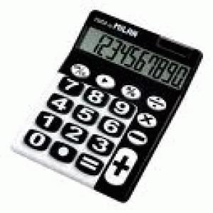 Calculadora milan blister 8 digitos teclas grandes negro