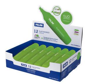 Marcador milan sway fluorescente verde